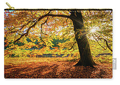 The Last Rays Of Golden Autumn Carry-all Pouch