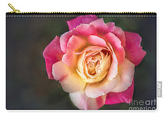 The Last Rose Of Summer, Painting Carry-all Pouch