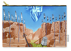 The Last Soldier An Ode To Beethoven Carry-all Pouch