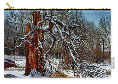 Carry-all Pouch featuring the photograph The Last Stand by Shane Bechler