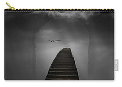 Carry-all Pouch featuring the photograph The Last Steps by Keith Elliott