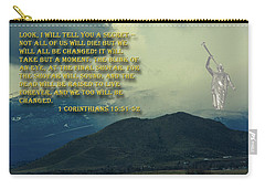 Carry-all Pouch featuring the photograph The Last Trump by Tikvah's Hope