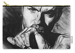 The Late Great George Michaels Carry-all Pouch by Darryl Matthews