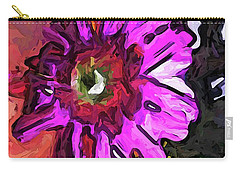 The Lavender Flower Above The Yellow Flower Carry-all Pouch