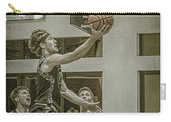 Carry-all Pouch featuring the photograph The Layup by Ronald Santini
