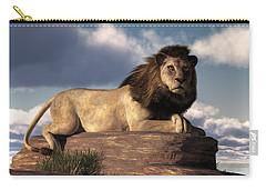The Lazy Lion Carry-all Pouch by Daniel Eskridge