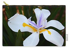 The Legacy African Iris Carry-all Pouch by Warren Thompson