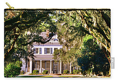 Carry-all Pouch featuring the photograph The Legare-waring House At Charles Town Landing by Lisa Wooten