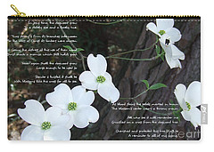 The Legend Of The Dogwood Carry-all Pouch by Andrea Anderegg
