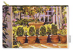 The Lemon Tree Courtyard Carry-all Pouch