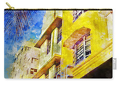 The Leslie Hotel South Beach Carry-all Pouch