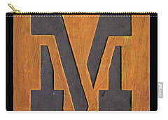 The Letter M Carry-all Pouch