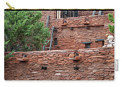 Carry-all Pouch featuring the photograph The Levels Of The Hopi House by Kirt Tisdale