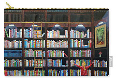 The Library Carry-all Pouch by Mike Caitham