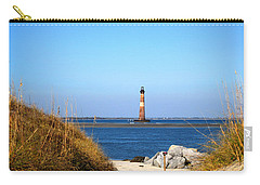The Lighhouse At Morris Island Charleston Carry-all Pouch