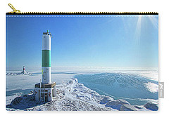 Carry-all Pouch featuring the photograph The Light Keepers by Phil Koch