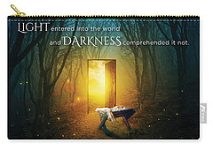 The Light Of Life Carry-all Pouch