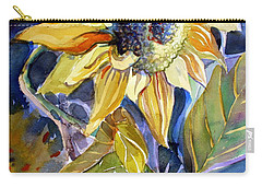 The Light Of Sunflowers Carry-all Pouch