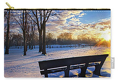 Carry-all Pouch featuring the photograph The Light That Beckons by Phil Koch