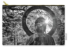 Carry-all Pouch featuring the photograph The Light Within And Without by Lora Lee Chapman