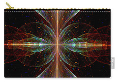 The Light Within Carry-all Pouch by Lea Wiggins