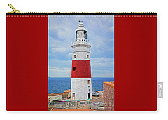 The Lighthouse At Europa Point Carry-all Pouch