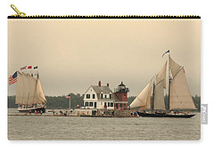 The Lighthouse At Rockland Carry-all Pouch