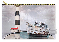 Carry-all Pouch featuring the photograph The Lighthouse by Juli Scalzi