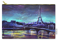 The Lights Of Paris Carry-all Pouch
