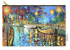 The Lights Of The Sleeping City Carry-all Pouch