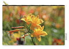The Lilies Arrayed Carry-all Pouch