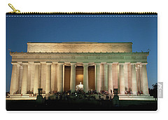 Carry-all Pouch featuring the photograph The Lincoln Memorial by Mark Dodd