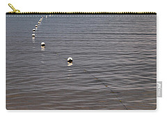 Carry-all Pouch featuring the photograph The Line by Jouko Lehto