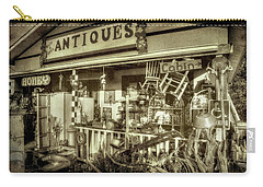 The Little Antique Store Carry-all Pouch by Mike Eingle