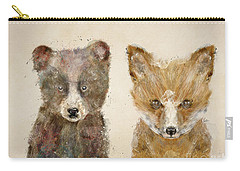 The Little Bear And Little Fox Carry-all Pouch