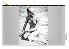 Carry-all Pouch featuring the photograph The Little Mermaid by Michael Canning