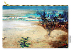 Carry-all Pouch featuring the painting The Little Pine Tree by Winsome Gunning