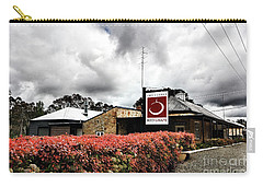 Carry-all Pouch featuring the photograph The Little Red Grape Winery   by Douglas Barnard