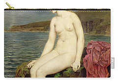 The Little Sea Maid  Carry-all Pouch by Evelyn De Morgan