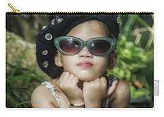 The Little Thinking Girl Carry-all Pouch