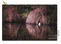 The Little White Duck Carry-all Pouch by Isabella F Abbie Shores FRSA