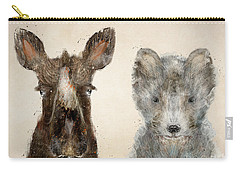 The Little Wolf And Moose Carry-all Pouch