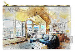 The Living Room Carry-all Pouch