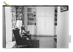 Carry-all Pouch featuring the photograph The Living Room by Ester Rogers