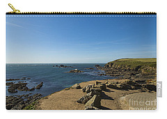Carry-all Pouch featuring the photograph The Lizard Point by Brian Roscorla