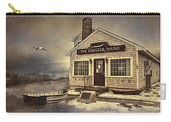 Carry-all Pouch featuring the photograph The Lobster Pound by Robin-lee Vieira