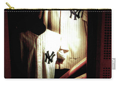 The Locker  Mickey Mantle's And Joe Dimaggio's Locker Carry-all Pouch