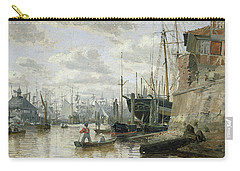 The Log Cabin At Hamburg Harbour Carry-all Pouch