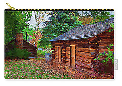 The Log Cabins Carry-all Pouch