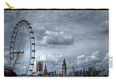 The London Eye And Skyline Carry-all Pouch